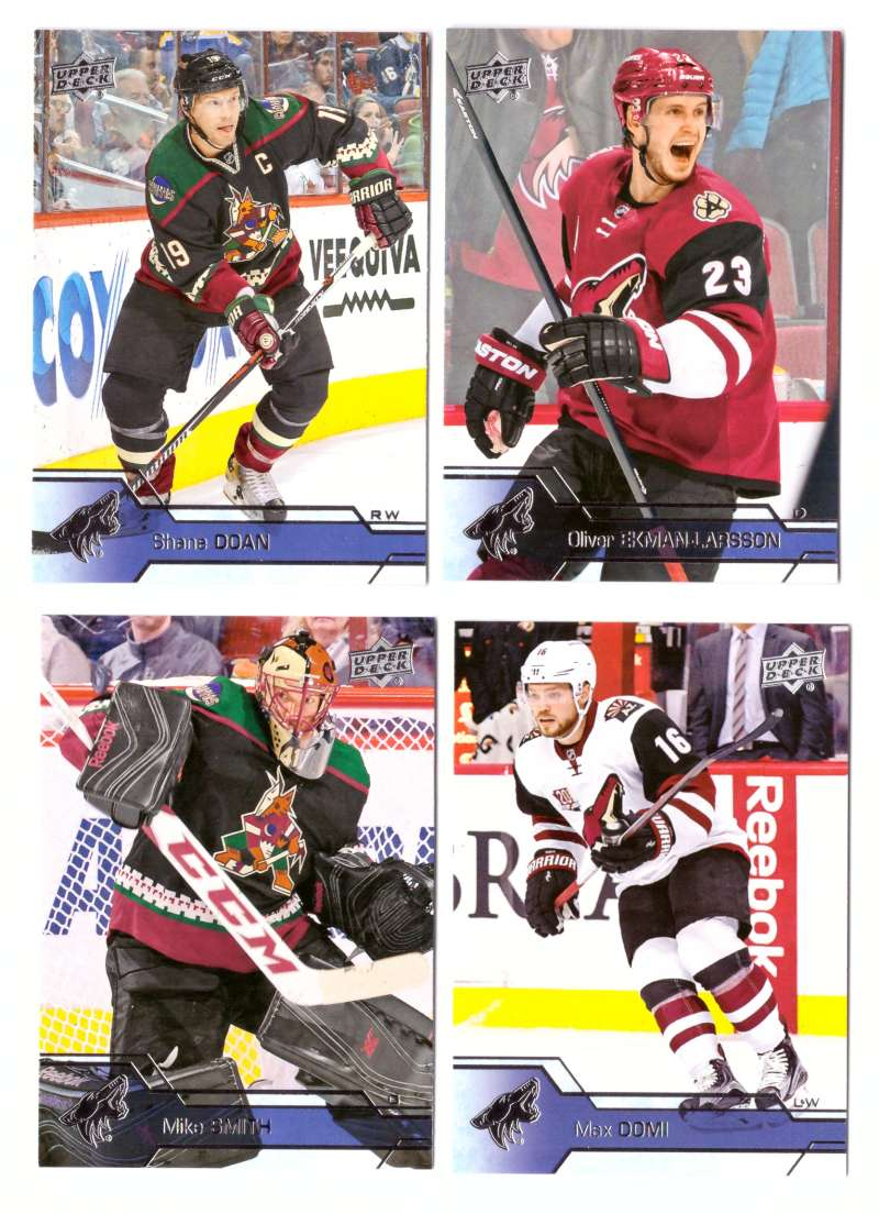 2016-17 Upper Deck (Base) Hockey Team Set - Arizona Coyotes