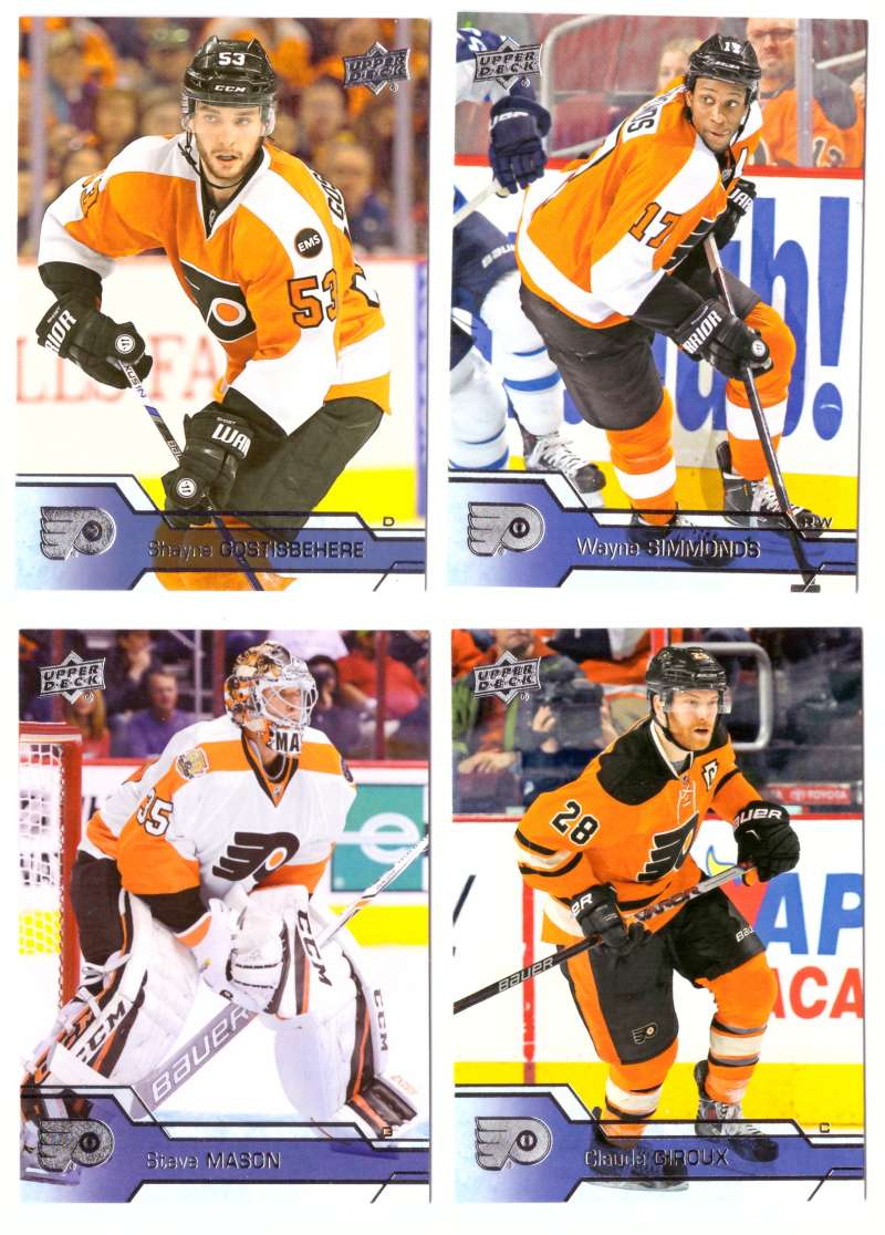 2016-17 Upper Deck (Base) Hockey Team Set - Philadelphia Flyers