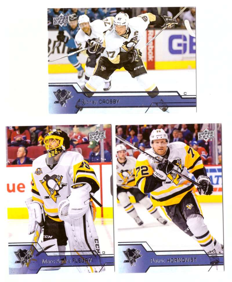 2016-17 Upper Deck (Base) Hockey Team Set - Pittsburgh Penguins