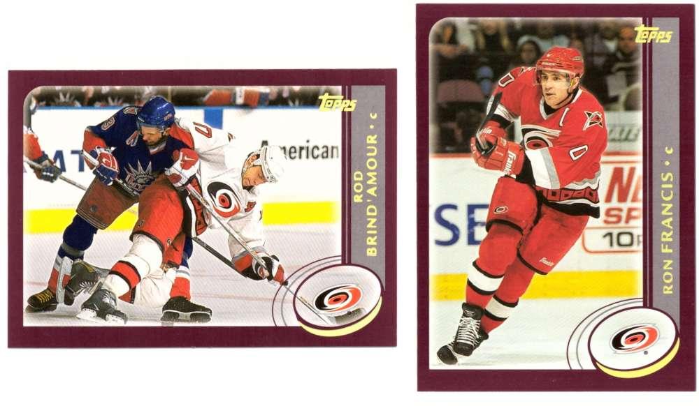 2002-03 Topps Hockey Team Set - Carolina Hurricanes