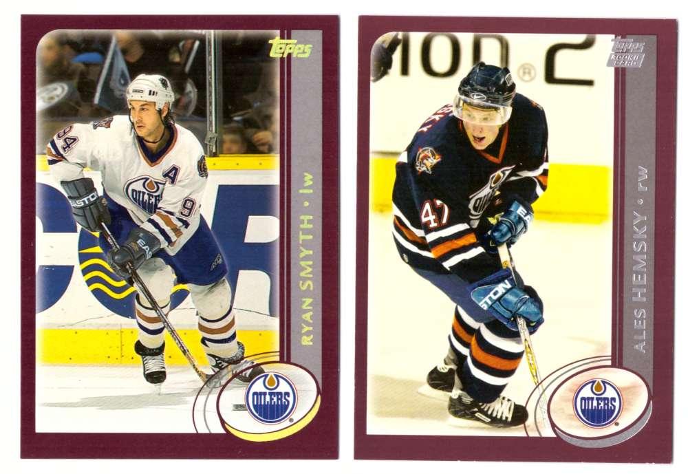 2002-03 Topps Hockey (1-340) Team Set - Edmonton Oilers