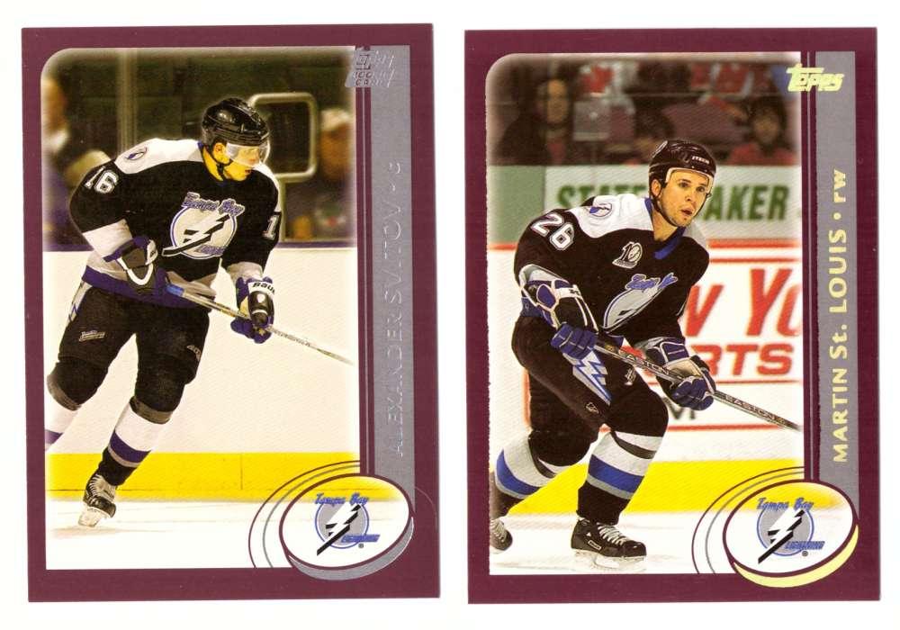 2002-03 Topps Hockey (1-340) Team Set - Tampa Bay Lightning