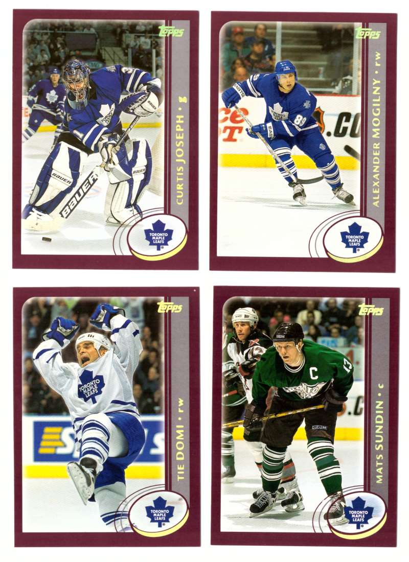 2002-03 Topps Hockey Team Set - Toronto Maple Leafs