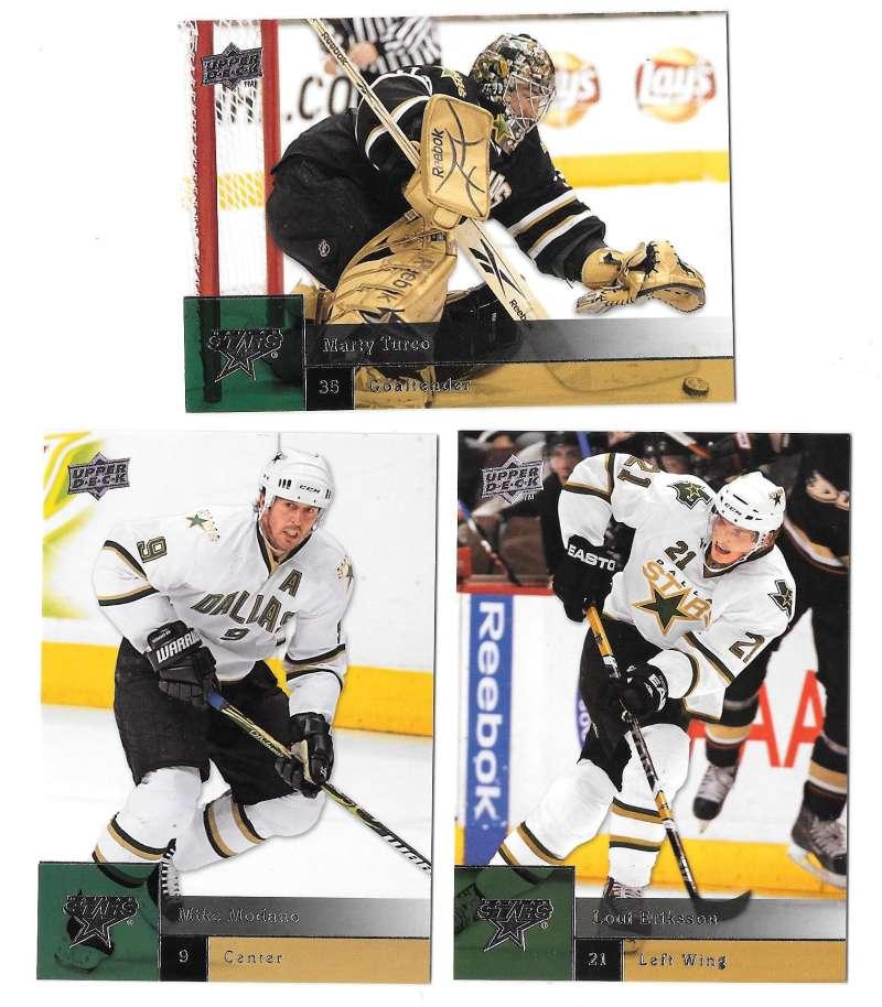 2009-10 Upper Deck (Base) Hockey Team Set - Dallas Stars
