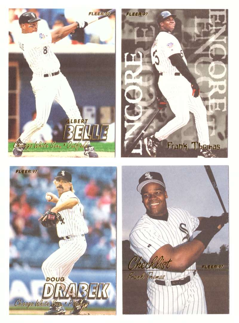 1997 Fleer Update (501-761) - CHICAGO WHITE SOX Team Set