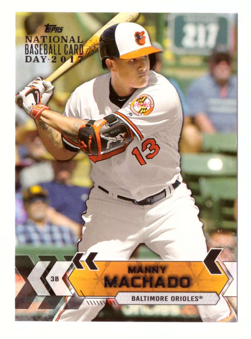 2017 Topps National Baseball Card Day - BALTIMORE ORIOLES