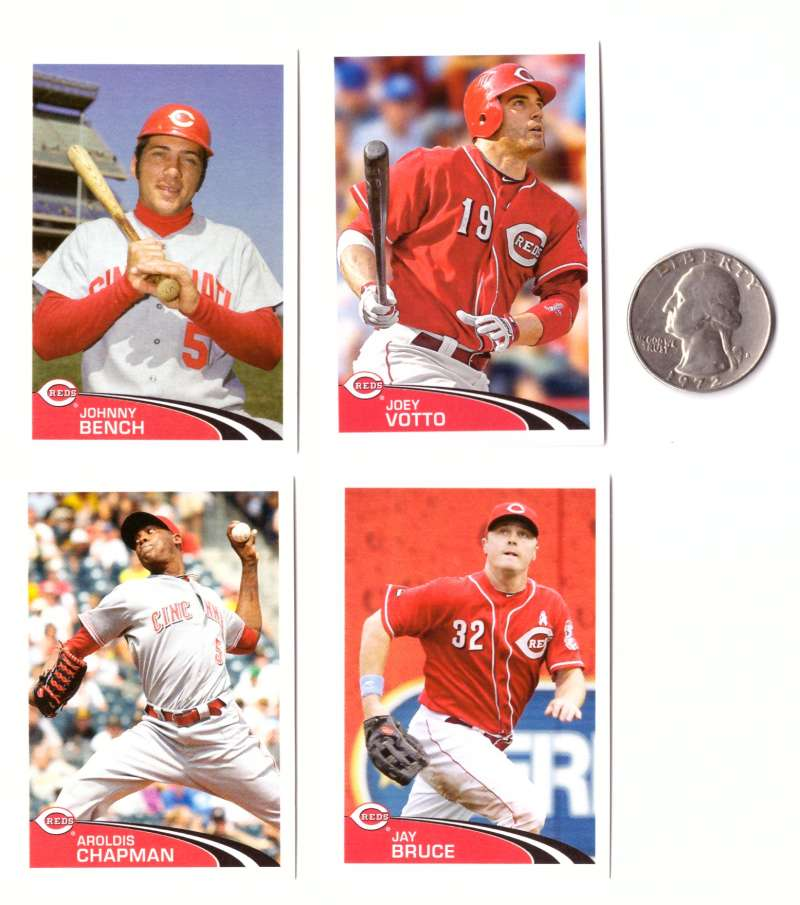 2012 Topps Stickers - CINCINNATI REDS Team Set