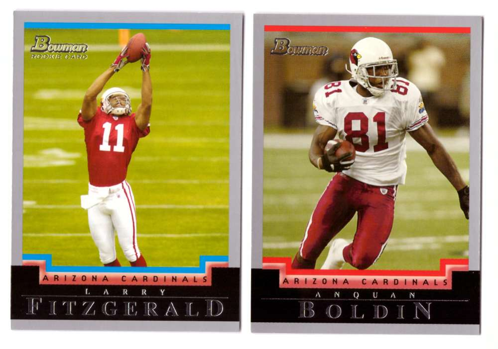 2004 Bowman Football Team Set - ARIZONA CARDINALS
