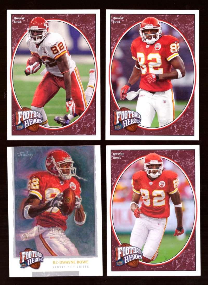 2008 Upper Deck Heroes Dwayne Bowe 37-40 Kansas City Chiefs