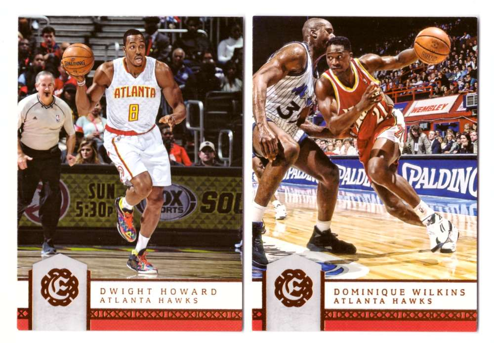 2016-17 Panini Excalibur Basketball Team Set - Atlanta Hawks