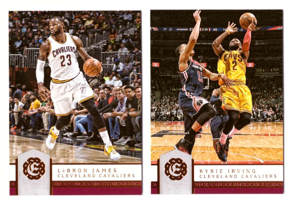 2016-17 Panini Excalibur Basketball Team Set - Cleveland Cavaliers
