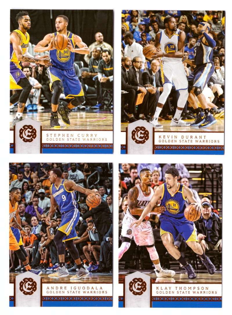 2016-17 Panini Excalibur Basketball Team Set - Golden State Warriors