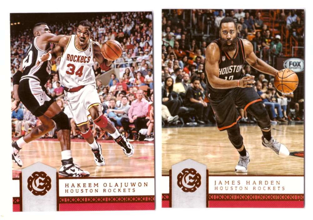 2016-17 Panini Excalibur Basketball Team Set - Houston Rockets