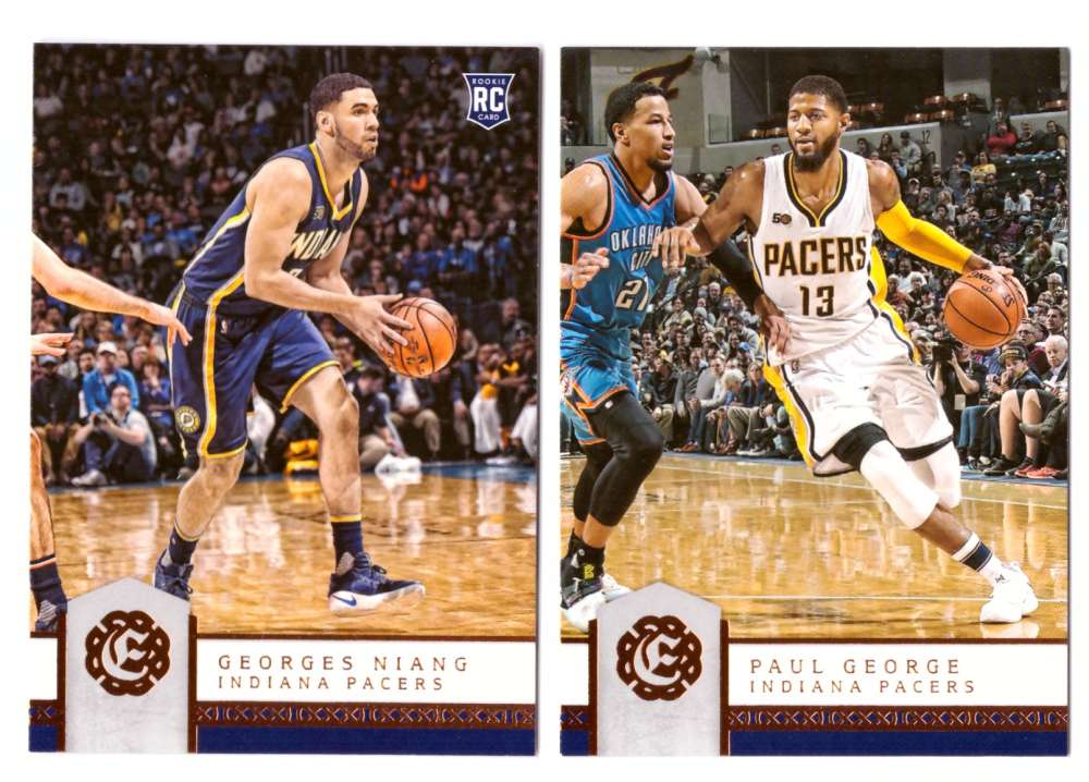 2016-17 Panini Excalibur Basketball Team Set - Indiana Pacers