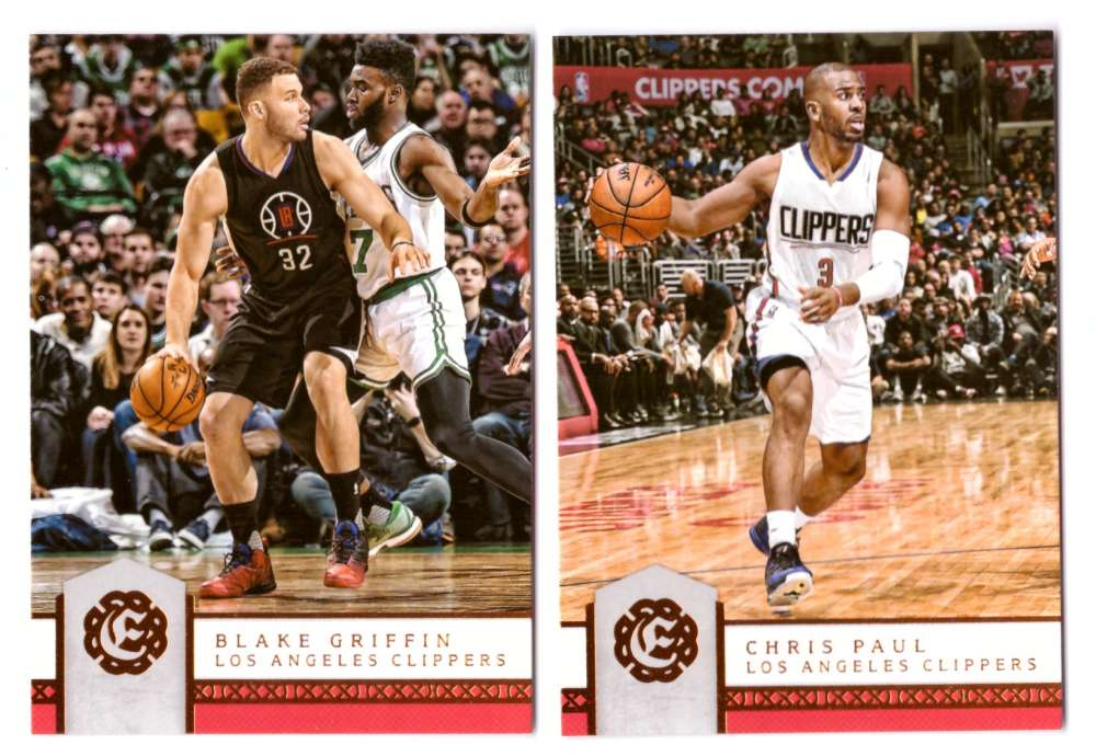 2016-17 Panini Excalibur Basketball Team Set - Los Angeles Clippers