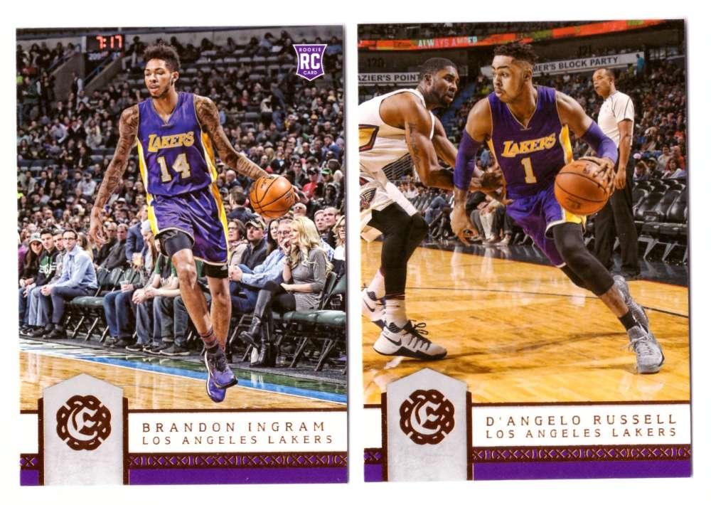 2016-17 Panini Excalibur Basketball Team Set - Los Angeles Lakers