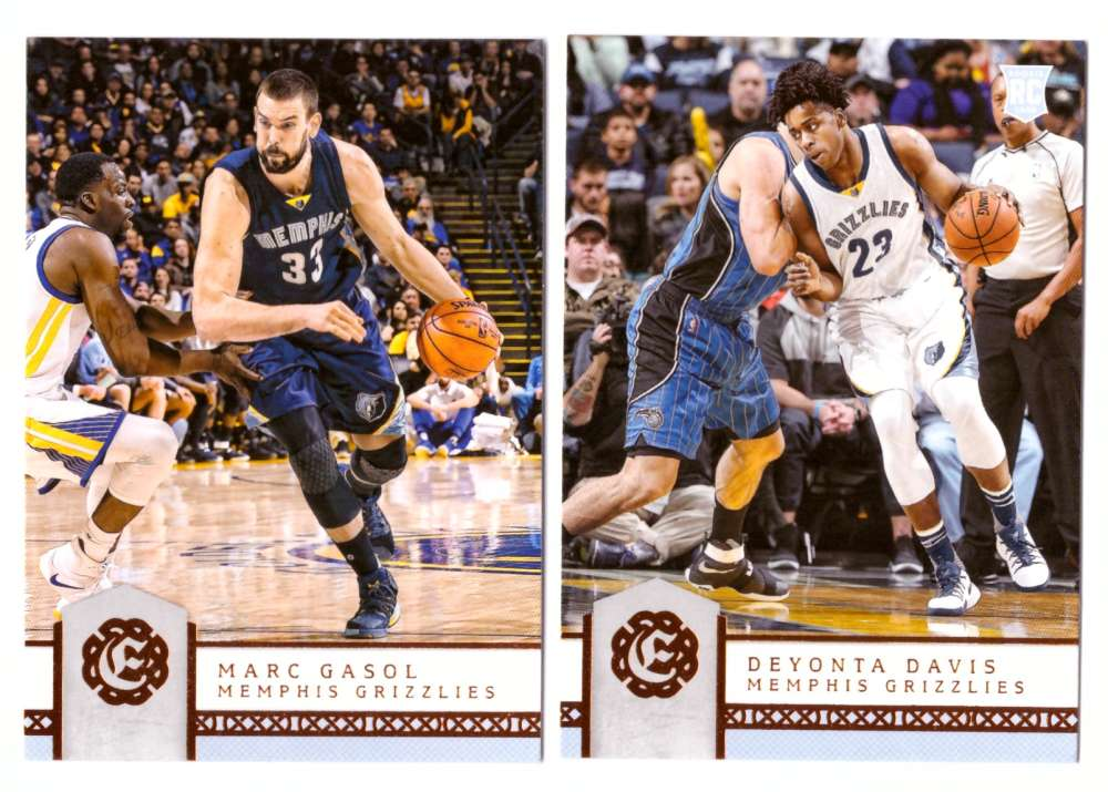 2016-17 Panini Excalibur Basketball Team Set - Memphis Grizzlies