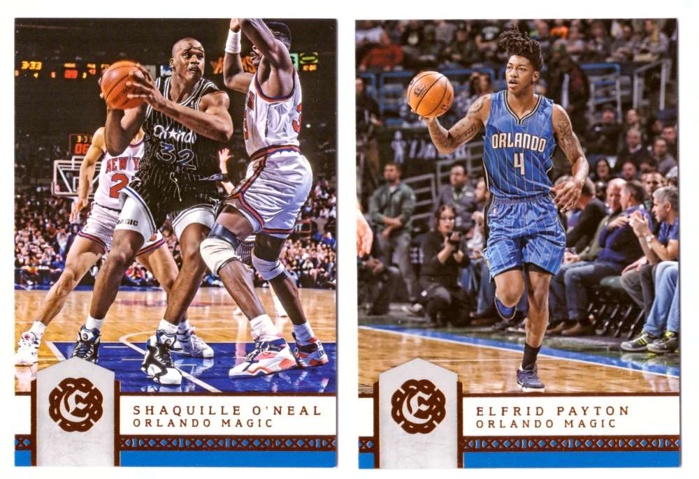 2016-17 Panini Excalibur Basketball Team Set - Orlando Magic
