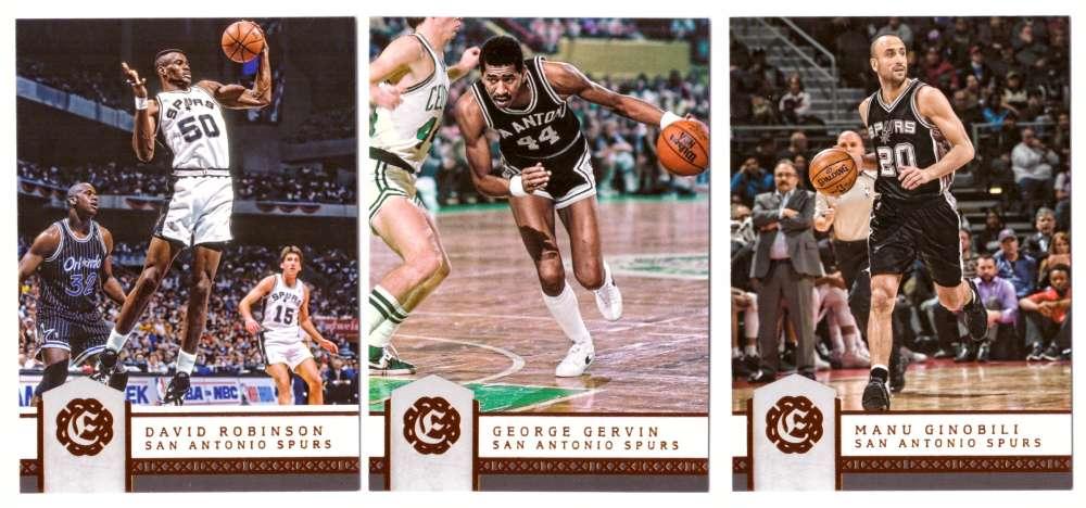 2016-17 Panini Excalibur Basketball Team Set - San Antonio Spurs