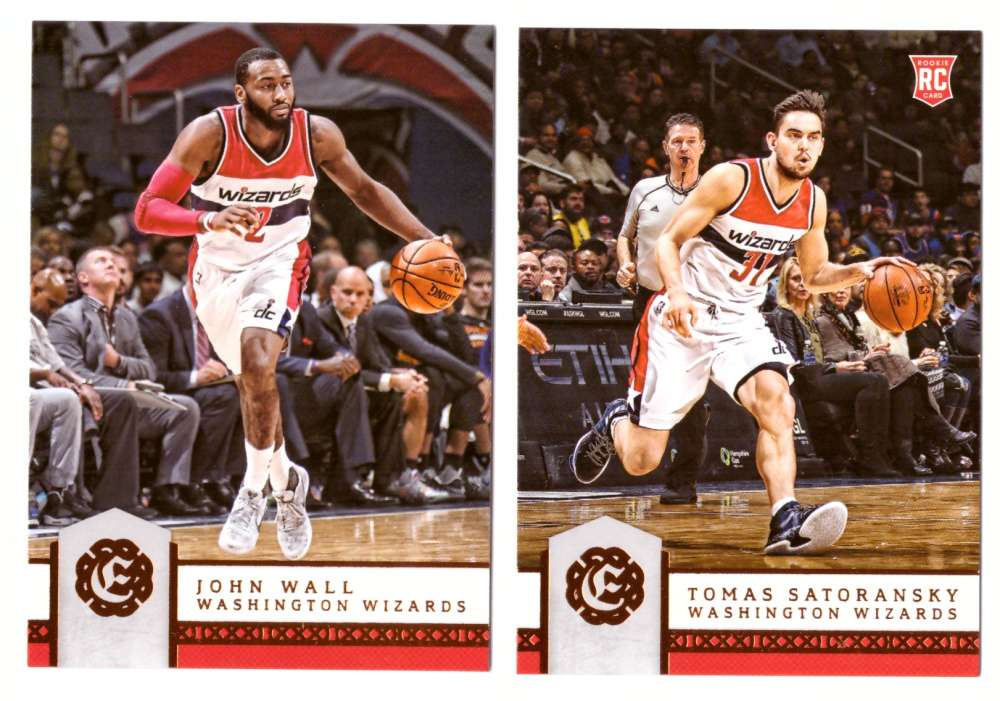 2016-17 Panini Excalibur Basketball Team Set - Washington Wizards