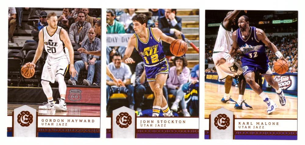 2016-17 Panini Excalibur Basketball Team Set - Utah Jazz