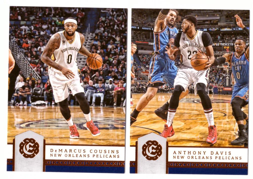 2016-17 Panini Excalibur Basketball Team Set - New Orleans Pelicans