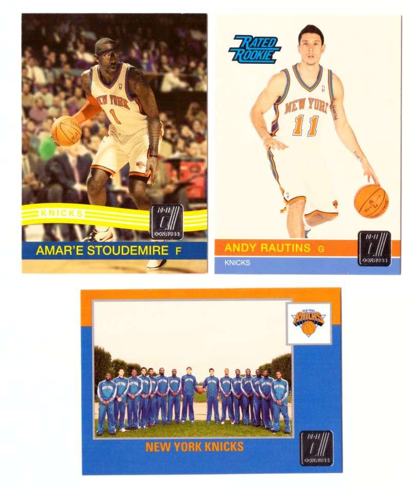 2010-11 Donruss Basketball Team Set - New York Knicks