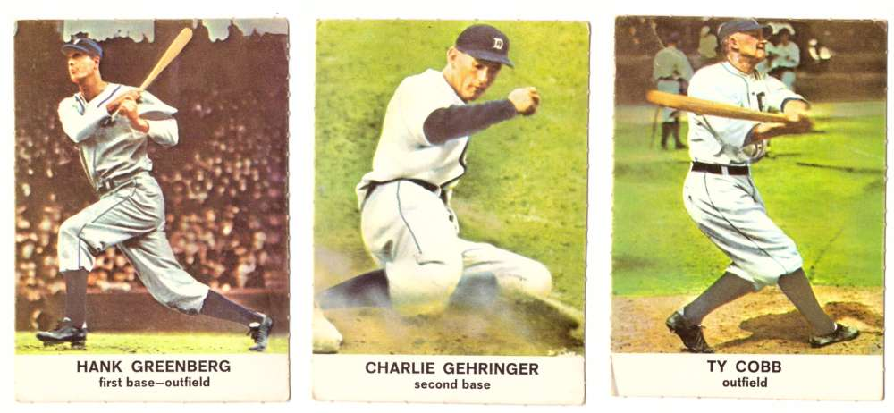 1961 Golden Press (B) - DETROIT TIGERS