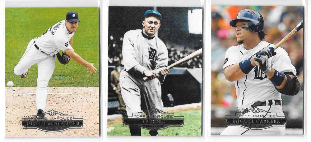 2011 Topps Marquee - DETROIT TIGERS Team Set