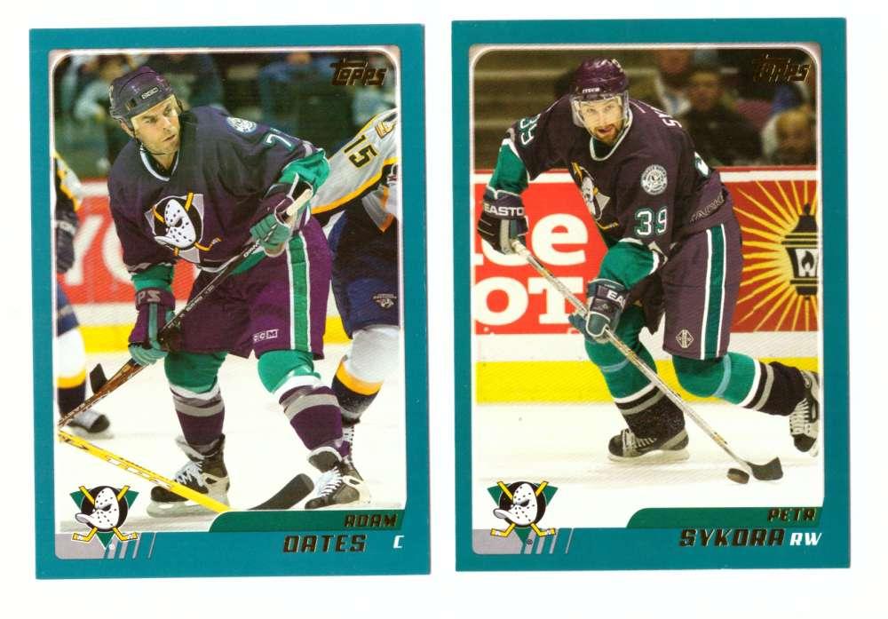 2003-04 Topps (1-330) Hockey Team Set - Anaheim Ducks