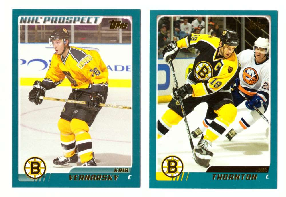 2003-04 Topps (1-330) Hockey Team Set - Boston Bruins