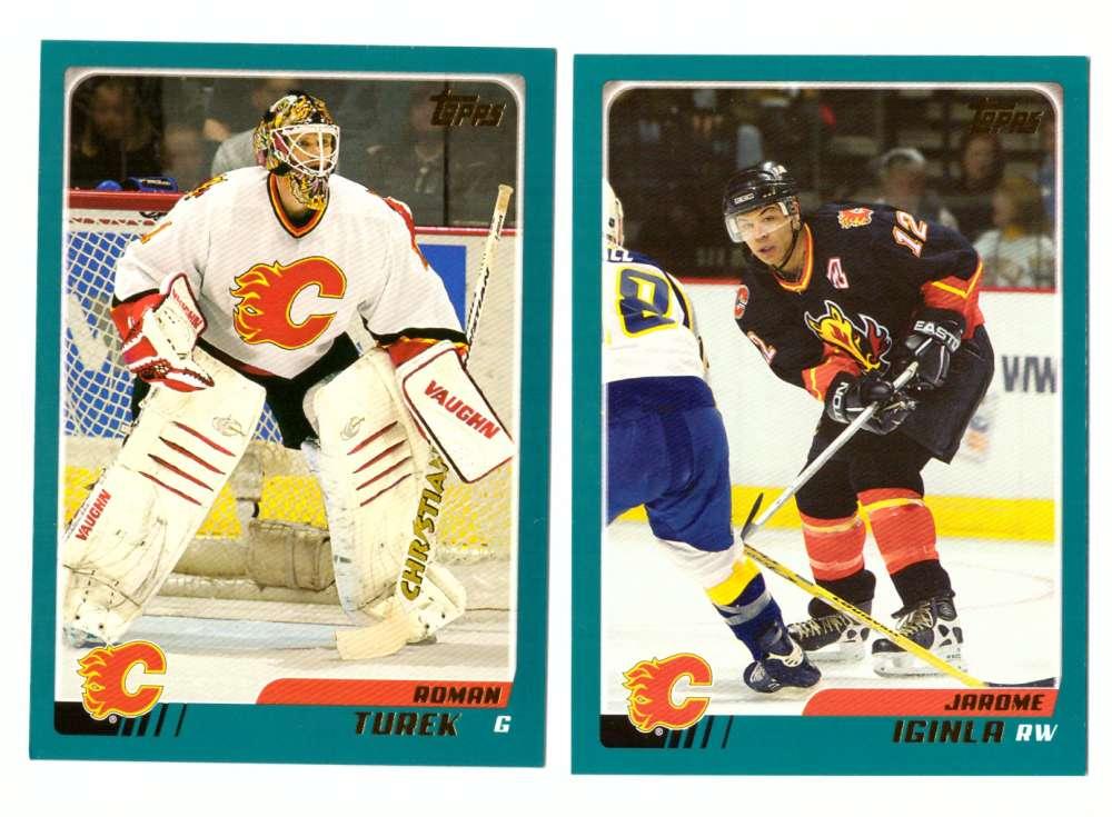2003-04 Topps (1-330) Hockey Team Set - Calgary Flames