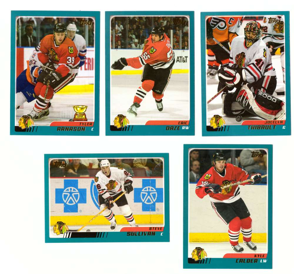 2003-04 Topps (1-330) Hockey Team Set - Chicago Blackhawks