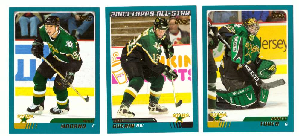 2003-04 Topps (1-330) Hockey Team Set - Dallas Stars