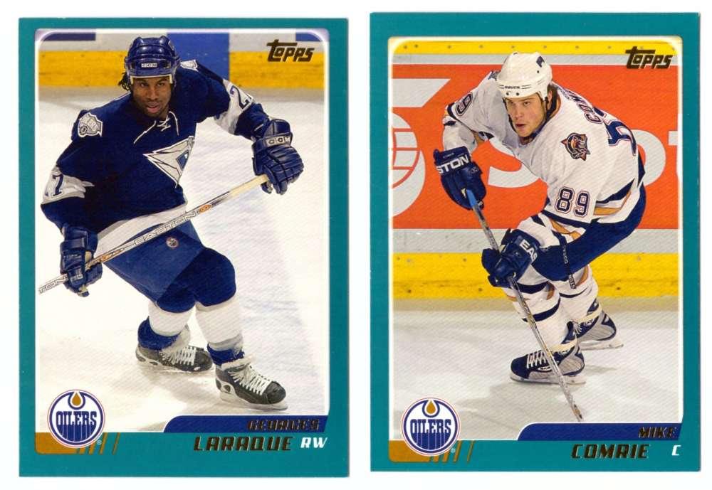2003-04 Topps (1-330) Hockey Team Set - Edmonton Oilers