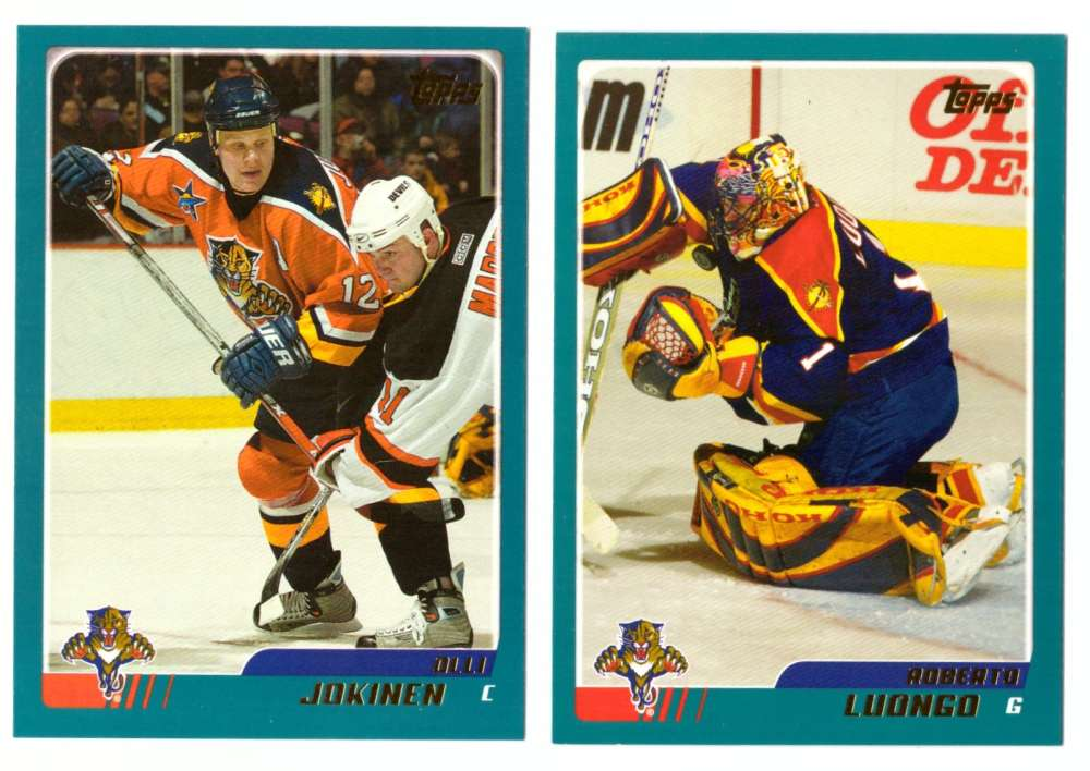 2003-04 Topps (1-330) Hockey Team Set - Florida Panthers