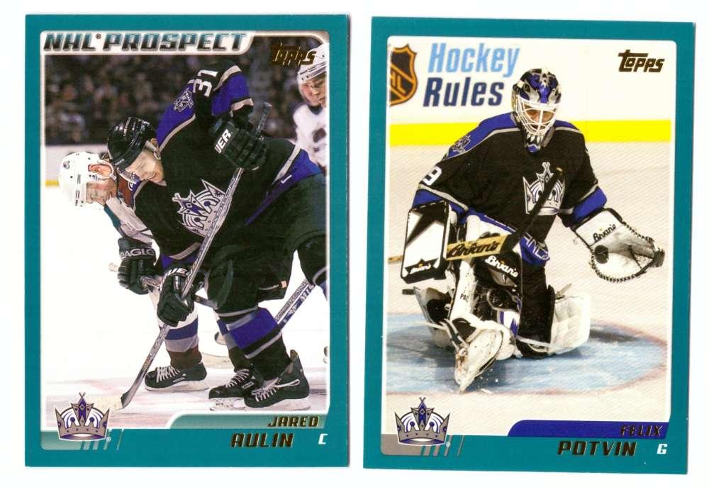2003-04 Topps (1-330) Hockey Team Set - Los Angeles Kings