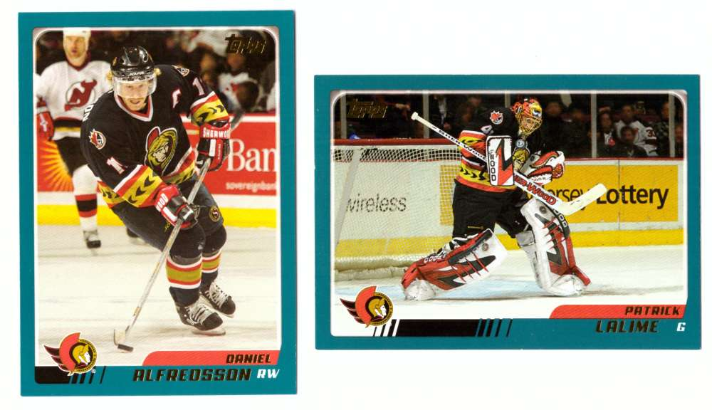 2003-04 Topps (1-330) Hockey Team Set - Ottawa Senators