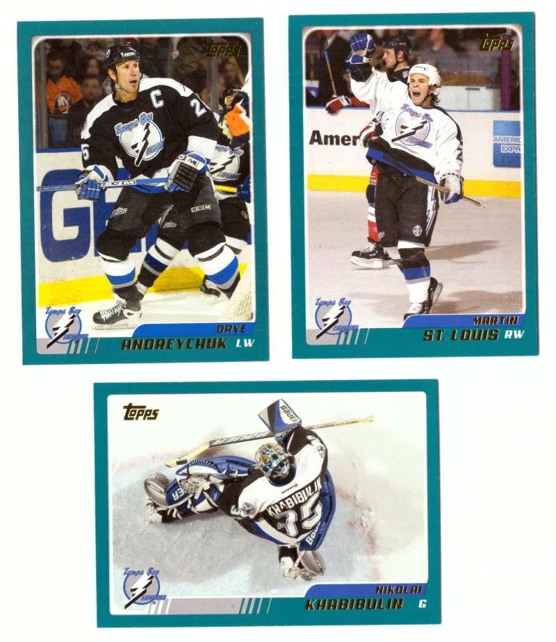2003-04 Topps (1-330) Hockey Team Set - Tampa Bay Lightning