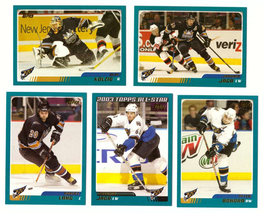 2003-04 Topps (1-330) Hockey Team Set - Washington Capitals