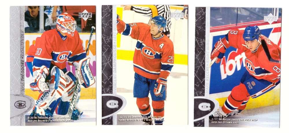 1996-97 Upper Deck Hockey Team Set - Montreal Canadiens