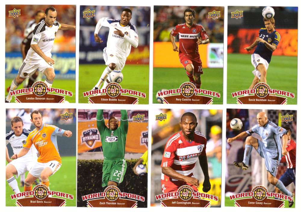 2010 Upper Deck World of Sports - Soccer Mens 40 cards