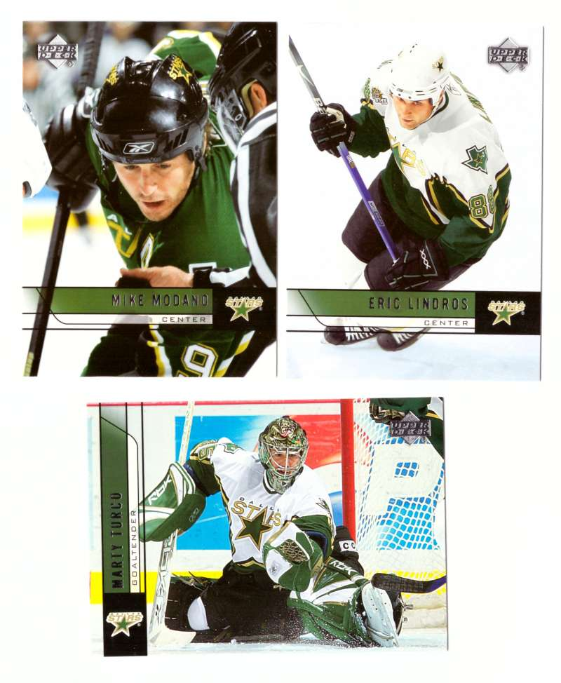 2006-07 Upper Deck (Base) Hockey Team Set - Dallas Stars