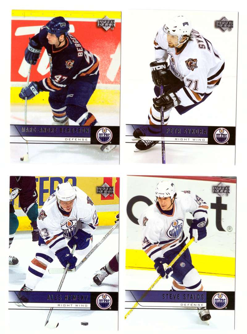 2006-07 Upper Deck (Base) Hockey Team Set - Edmonton Oilers