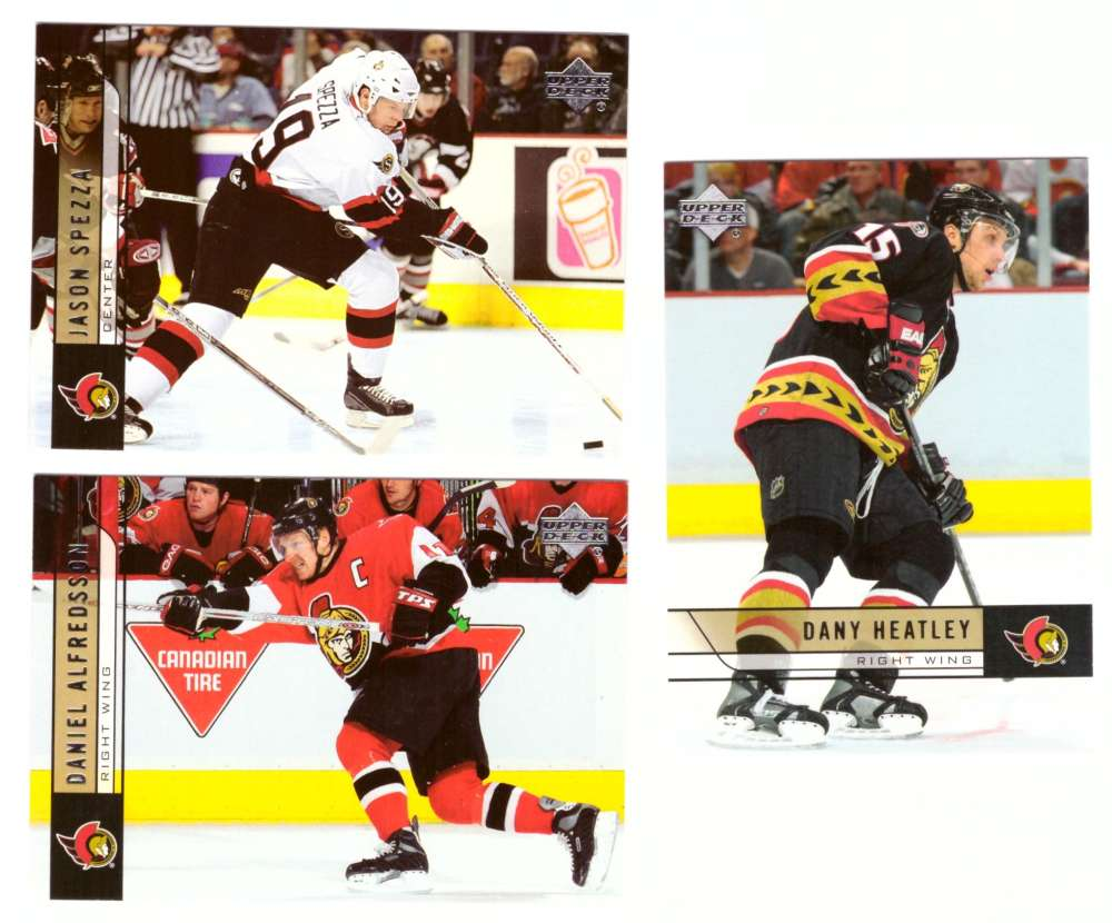 2006-07 Upper Deck (Base) Hockey Team Set - Ottawa Senators