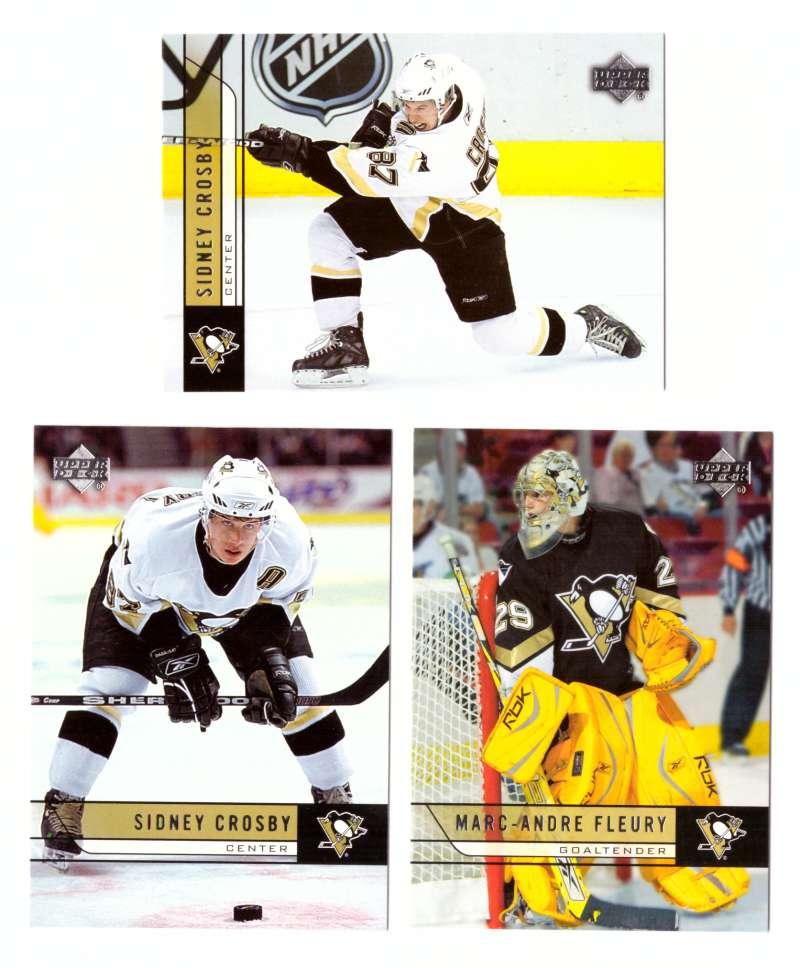 2006-07 Upper Deck (Base) Hockey Team Set - Pittsburgh Penguins