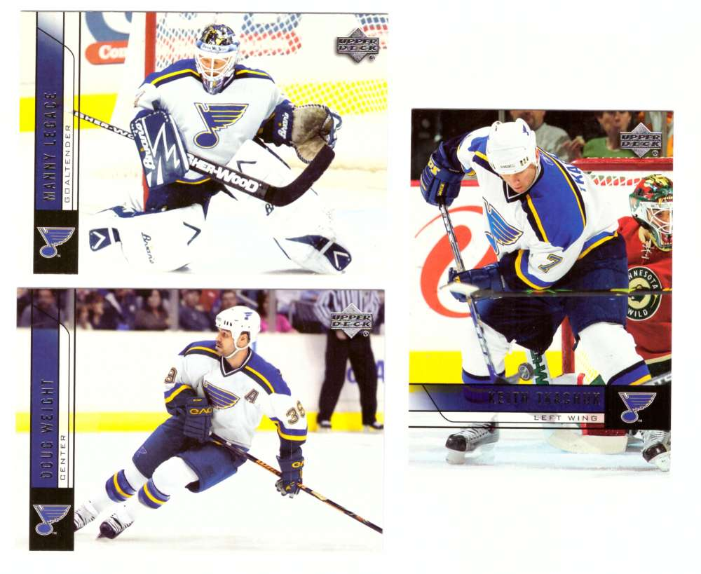 2006-07 Upper Deck (Base) Hockey Team Set - St. Louis Blues