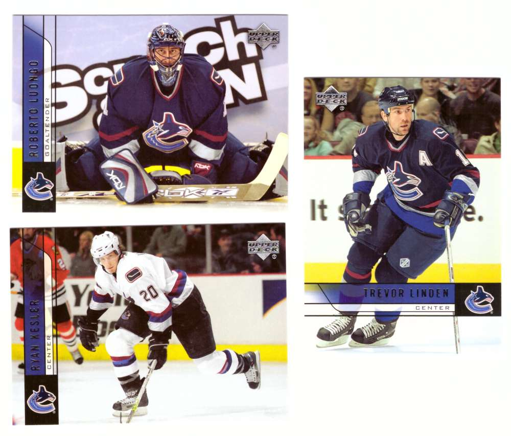 2006-07 Upper Deck (Base) Hockey Team Set - Vancouver Canucks
