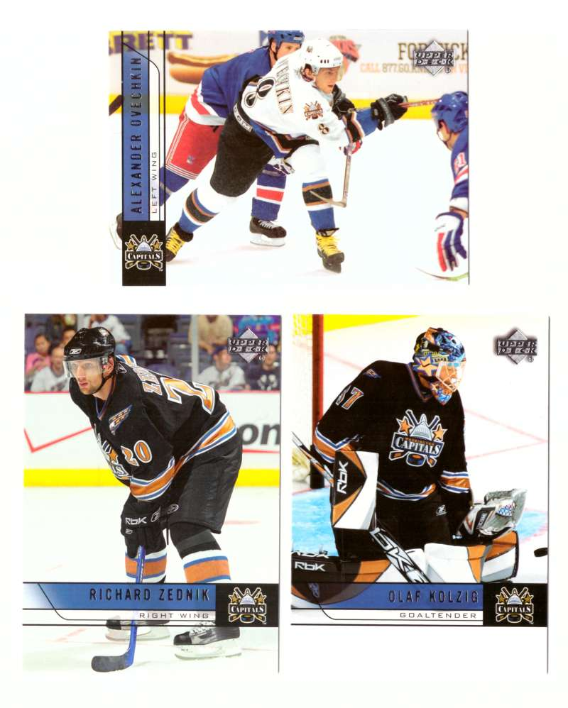2006-07 Upper Deck (Base) Hockey Team Set - Washington Capitals