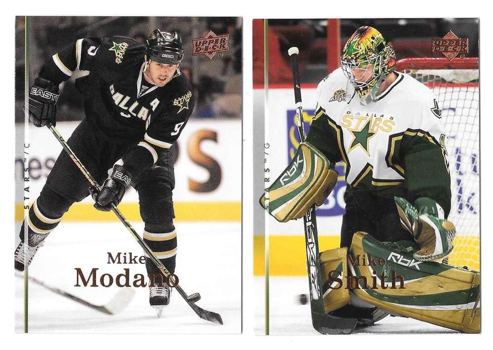 2007-08 Upper Deck (Base) Hockey Team Set - Dallas Stars